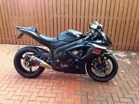 GSXR 750 k7 £3800