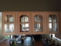 Hanging kitchen cabinets and Doors