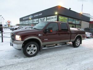 BEAUTIFUL 2007 Ford F-250 King Ranch 4x4 WINTER READY