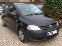 2009 09 Volkswagen Fox 1.2 89,000 miles