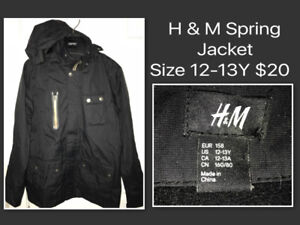 H & M SPRING JACKET - EXCELLENT CONDITION