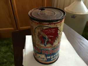 RED INDIAN OIL CAN