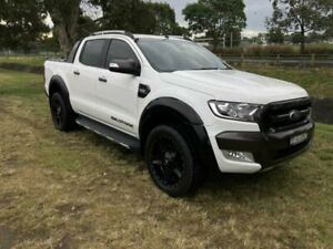 2015 Ford Ranger PX MkII Wildtrak 3.2 (4x4) White 6 Speed Manual Dual Cab Pick-up Mayfield East Newcastle Area Preview