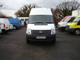 2013 (63) FORD TRANSIT 100 T350 LWB HIGH ROOF