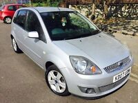 2007 FORD FIESTA ZETEC CLIMATE 1.2CC 2 OWNERS 55K LOW MILEAGE VGC