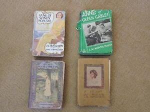Vintage L.M. Montgomery Books