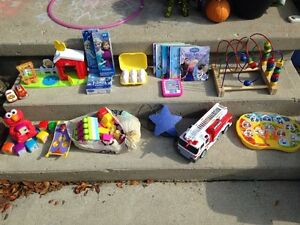 Lot of items kids toys