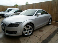 AUDI TT COUPE 2.0 TURBO FSI 2008 FULL SERV HISTORY FINANCE WARRANTY VGC