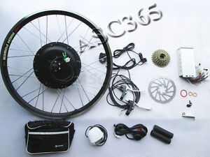"26"" Electric Bike Bicycle Motor Conversion Kit 48V 500W 260251"