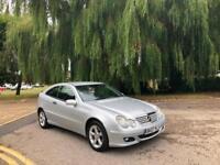 2007 Mercedes-Benz C220 2.2 TD Auto CDI SE 3 Door Hatchback (82,000 Miles)