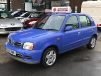 Nissan Micra Activ 16v 5dr PETROL MANUAL 01/51IMMACULATE EXAMPLE ONLY 48K MOT