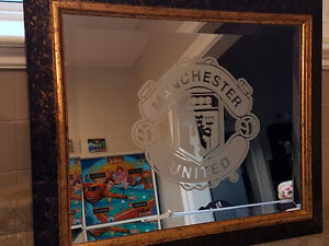 Manchester united framed mirror London Ontario image 1