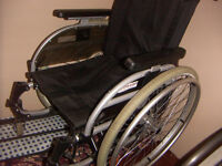 Wheelchair, Otto Bock, [folding] 16 inch w seat