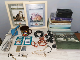house clearance Collection Of Vintage Modern Items Cassette jewellery