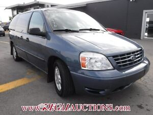 2006 FORD FREESTAR BASE 4D WAGON BASE