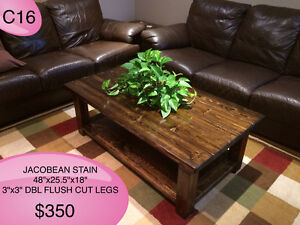 CUSTOM BUILT COFFEE TABLES, YOUR CHOICE OF STAIN Kingston Kingston Area image 7