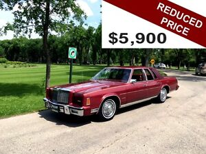 SAFETIED - 1980 Chrysler New Yorker - REDUCED PRICE TO  $5,900