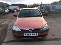 Vauxhall Corsa 1.2i 16v GLS 5 DOOR - 2001 Y-REG - 8 MONTHS MOT