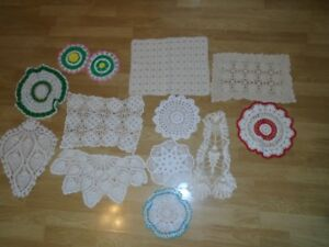 Crocheted Doilies for sale
