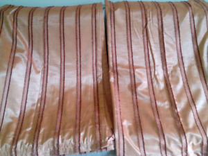 Rust Coloured Curtains