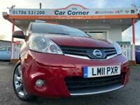 2011 Nissan Note N-TEC used cars Rochdale, Greater Manchester MPV Petrol Manual