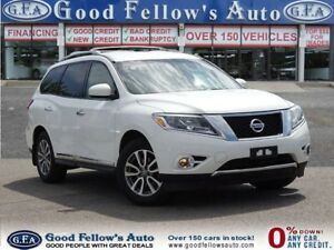 2014 Nissan Pathfinder SL MODEL AWD 7 PASSR NAVI CAM, LEATHER 6C