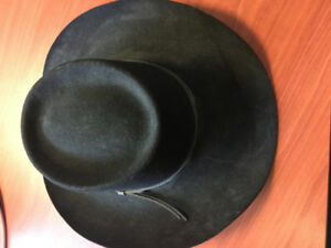 Black Mens Cowboy Hat Stallion by Stetson
