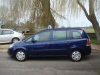 Vauxhall/Opel Zafira 1.6i 16v 2006MY Life GUARANTEED CAR FINANCE