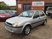 2000 Ford Fiesta 1.25 Zetec, Silver 5dr Hatch,ONLY 37k MILES **ANY PX WELCOME**