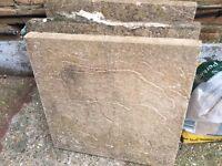 Free patio slabs