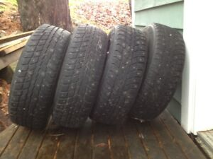 195 65 15 tires and 5 x 112mm VW rlms