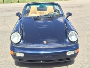 Porsche Porsche carrera 4 1992, air cooled, cabriolet