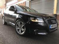 Audi A3 2010 1.4 TFSI Sport S Tronic 3 door AUTO, 1 OWNER, GENUINE LOW MILEAGE