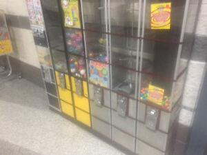 Vending Towers for Candy or Toy Capsule