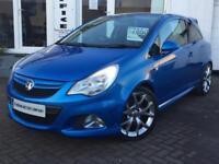 2011 11 Vauxhall/Opel Corsa 1.6i 16v Turbo 192ps VXR Blue~VERY LOW MILEAGE~FSH~