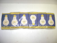 1960's rough service light bulbs, made here in London