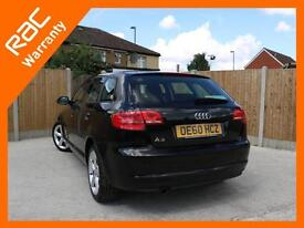 2010 Audi A3 1.6 Technik 5 Door 5 Speed Bluetooth BOSE Air Con Just 2 Owners Onl