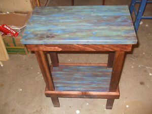 hand made table