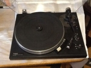 vintage technics turntable