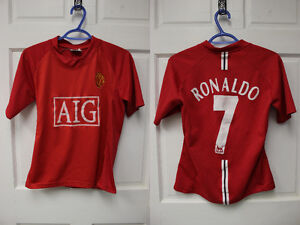 7 - Manchester United Jerseys - Various sizes
