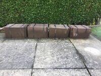 Redland Concrete Brown Roof Tiles