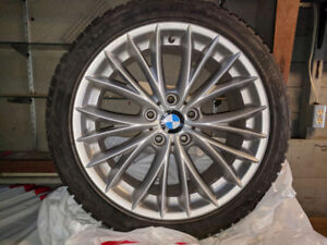 BMW Winter Tires and Rims - 235/40/18