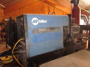 miller bobcat welder