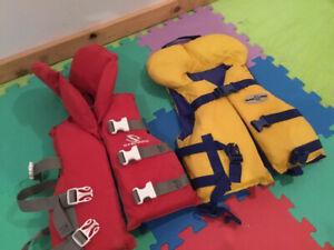 Vestes de flottaison Gilets de sauvetage