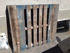 2 Free Wood Pallets
