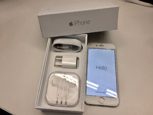 iPhone 6 16GB Silver **UNLOCKED** - MINT CONDITION!