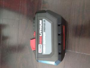 Milwakee battery  AH12.