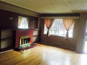 Available: 3 Bedrooms & 1 Washroom