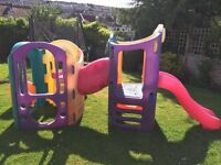 Little tikes slide and climbing frame 8 in 1