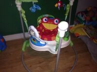 Fisher price rain forest jumperoo CHRISTMAS PRESENT!